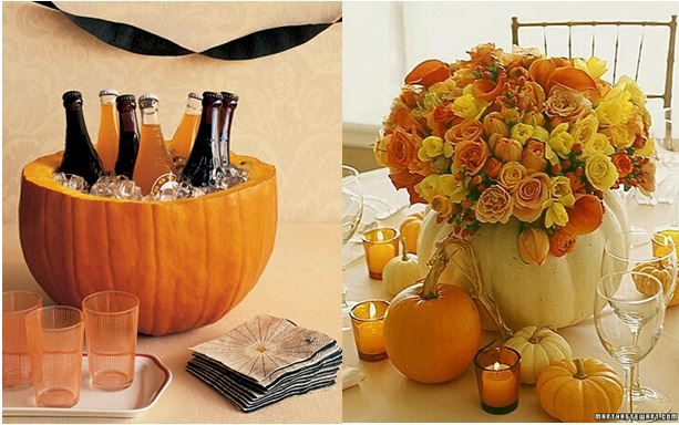 Pumpkin vessel